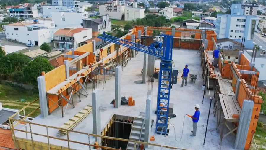 Guincho de Elevação Mini Grua - GARANTIA - Elevadores e automação - Criciúma - Florianópolis - Santa Catarina